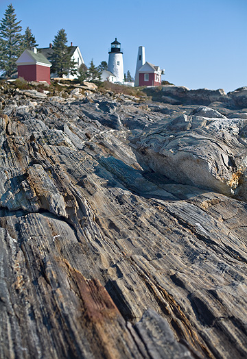Rocks and Lighthouse